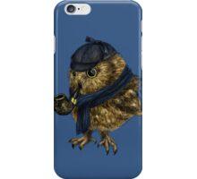 Sherlock // owl iPhone Case/Skin