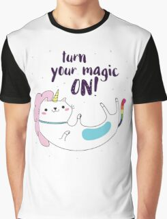 Turn your magic on! Graphic T-Shirt