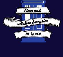 TARDIS (Time and Relative Dimension in Shirts) by nicolorful