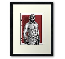 Snake Metal Gear Solid Framed Print