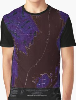 USGS TOPO Map Alaska AK Ketchikan C-6 356726 1949 63360 Inverted Graphic T-Shirt