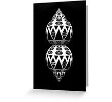 Spheres B&W [ iphone / case ] Greeting Card