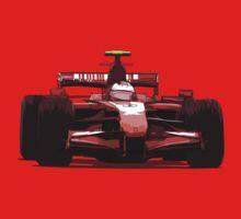 Championship Cars - Kimi 2007 Baby Tee
