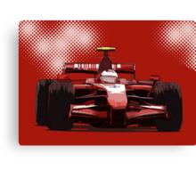 Championship Cars - Kimi 2007 Canvas Print