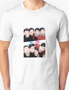 Dan And Phil Photo Booth  Unisex T-Shirt