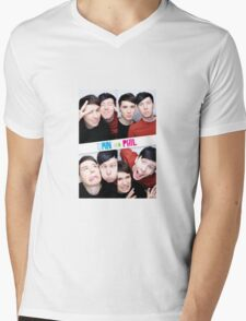 Dan And Phil Photo Booth  Mens V-Neck T-Shirt