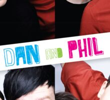 Dan And Phil Photo Booth  Sticker