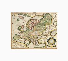Vintage Map of Europe (1596) Unisex T-Shirt