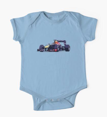 Championship Cars - Vettel 2013 One Piece - Short Sleeve
