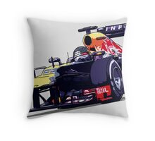Championship Cars - Vettel 2013 Throw Pillow