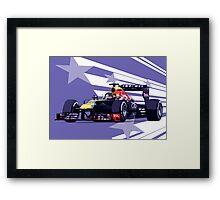 Championship Cars - Vettel 2013 Framed Print