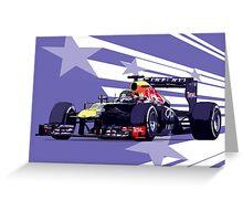 Championship Cars - Vettel 2013 Greeting Card