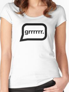 Grrrrr. Women's Fitted Scoop T-Shirt
