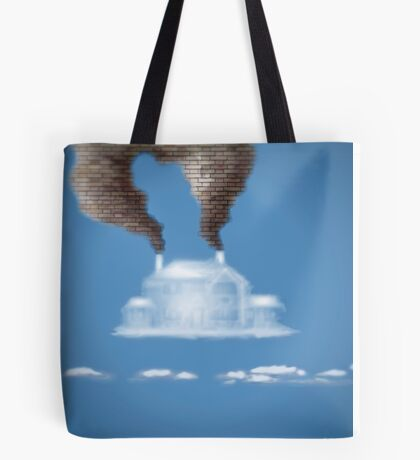 My House In The Clouds Tote Bag