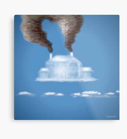 My House In The Clouds Metal Print