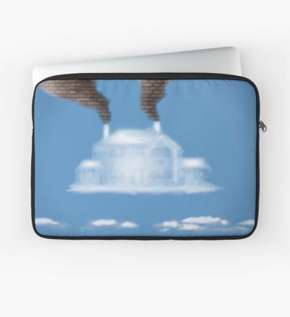 My House In The Clouds Laptop Sleeve