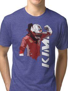 Kimi Raikkonen (WDC 2007) Tri-blend T-Shirt