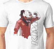 Kimi Raikkonen (WDC 2007) Unisex T-Shirt