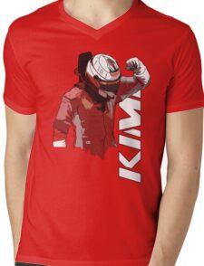 Kimi Raikkonen (WDC 2007) Mens V-Neck T-Shirt