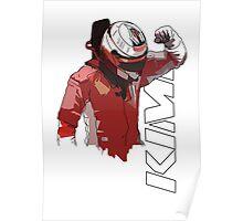 Kimi Raikkonen (WDC 2007) Poster