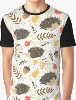 Cute hedgehogs Graphic T-Shirt