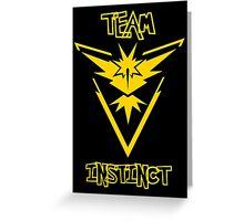Team Instinct - Team Yellow Greeting Card