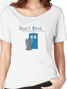 Don't Blink - Doctor Who Women's Relaxed Fit T-Shirt