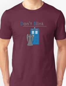 Don't Blink - Doctor Who Unisex T-Shirt