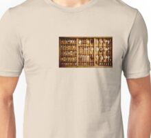 Printer's Drawer Unisex T-Shirt