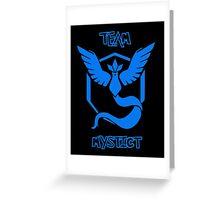 Team Mystict - Team Blue Greeting Card