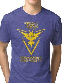 Team Instinct - Team Yellow Tri-blend T-Shirt