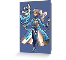 Blanche - Team Mystic Greeting Card