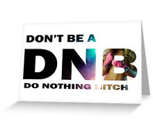 DNB Greeting Card