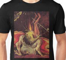 Weird Demon by Hieronymus Bosch Unisex T-Shirt