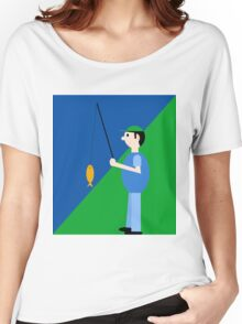 Fisherman  Women's Relaxed Fit T-Shirt