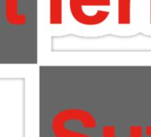 Team Sutil Gutierrez (black T's) Sticker