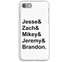 The NBHD names iPhone Case/Skin