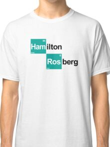 Team Hamilton Rosberg (white T's) Classic T-Shirt