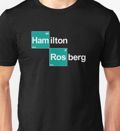 Team Hamilton Rosberg (black T's) Unisex T-Shirt