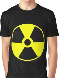 Radiation Hazard Warning Graphic T-Shirt