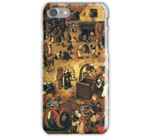 The Fight by Hieronymus Bosch iPhone Case/Skin
