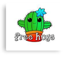 Tiny Free Hugs Canvas Print