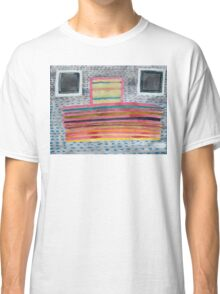 Stacked Lines and Squares Classic T-Shirt