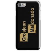 Team Grosjean Maldonado iPhone Case/Skin