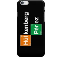 Team Hulkenberg Perez (black T's) iPhone Case/Skin