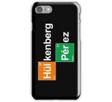 Team Hulkenberg Perez (black T's) iPhone Case/Skin