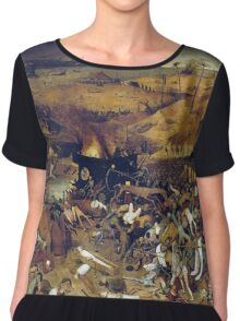 The Apocalypse by Hieronymus Bosch Chiffon Top