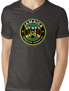 JAMAICA BOBSLED TEAM - COOL RUNNINGS Mens V-Neck T-Shirt