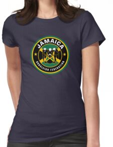 JAMAICA BOBSLED TEAM - COOL RUNNINGS Womens Fitted T-Shirt