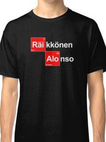 Team Raikkonen Alonso (black T's) Classic T-Shirt